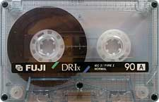 fuji_dr_ix_90_2_081001 audio cassette tape