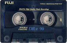 fuji_drii_90 audio cassette tape