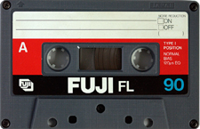 fuji_fl90_090802 audio cassette tape