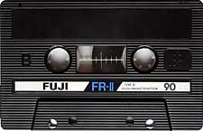 fuji_fr-II_90 audio cassette tape