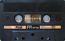 fuji_frmetall_90 audio cassette tape