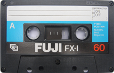 fuji_fxi_60 audio cassette tape