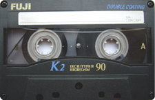 fuji_k2_90_ii_081001 audio cassette tape