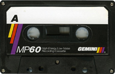 gemini_mp_60 audio cassette tape