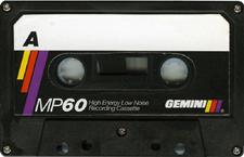 gemini_mp_60 audio cassette tape