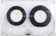 generic_transparent audio cassette tape