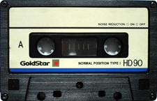 goldstar_hd90 audio cassette tape
