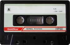 goldstar_hp60_081022 audio cassette tape