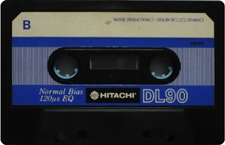 hitachi_dl90 audio cassette tape