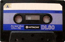 hitachi_dl_60 audio cassette tape