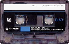 hitachi_dl_60_071201 audio cassette tape