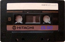 hitachi_dl_90 audio cassette tape