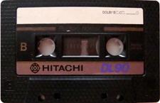 hitachi_dl_90 audio cassette tape