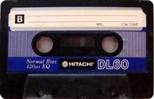 hitachi_dl_blau_60 audio cassette tape