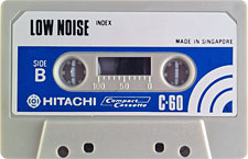 hitachi_lownoise_c60_b_oge_120922 audio cassette tape