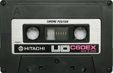 hitachiud audio cassette tape