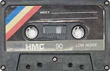 hmc_90_071201 audio cassette tape