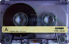 ilford_hf60 audio cassette tape