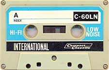 international_low_noise_hi_fi_c60ln_071126 audio cassette tape