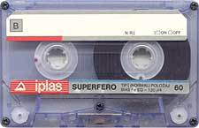 iplas_-_superfero_60_080417 audio cassette tape