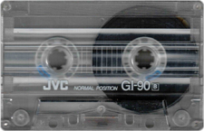 jvc audio cassette tape
