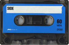 kmart_blue_cassette audio cassette tape