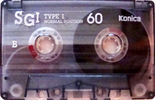 konica_sgi_60 audio cassette tape