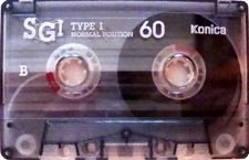 konica_sgi_60 audio cassette tape