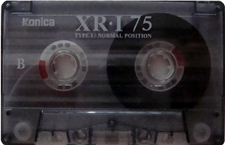 konica_xri_75 audio cassette tape