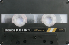 konicakxhr audio cassette tape