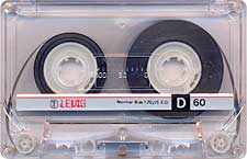 lewis_d60_071201 audio cassette tape