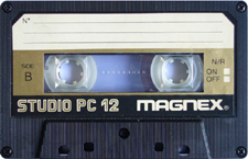 magnex_studio_pc_12 audio cassette tape