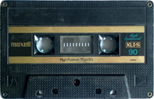 maxell-b-90 audio cassette tape