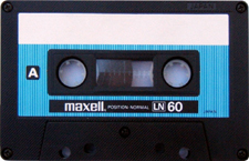maxell_LN60_080417 audio cassette tape