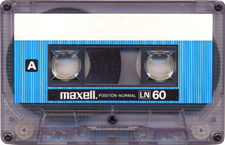 maxell_ln60-1_071201 audio cassette tape