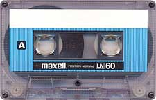 maxell_ln60_071201 audio cassette tape