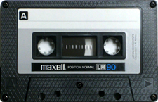 maxell_ln90 audio cassette tape