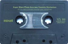 maxell_mx_100_mg1301 audio cassette tape