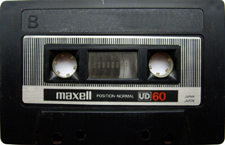 maxell_ud60_081001 audio cassette tape