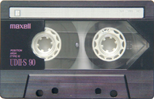 maxell_udii_s90_080417 audio cassette tape