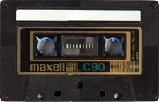 maxell_udxlii-c90_090802 audio cassette tape