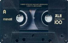 maxell_xlii audio cassette tape