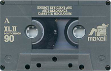 maxell_xlii_90 audio cassette tape