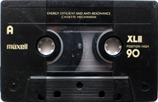 maxell_xlii_90_081001 audio cassette tape