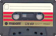 maxim_ln_60_071126 audio cassette tape