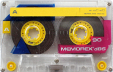 memorex audio cassette tape