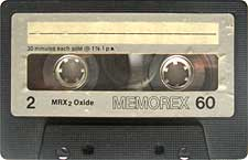 memorex_60_071126 audio cassette tape