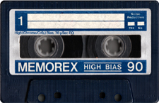 memorex_90 audio cassette tape