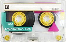 memorex_dbs_60 audio cassette tape