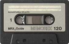 memorex_mrx3_oxide_120_080417 audio cassette tape